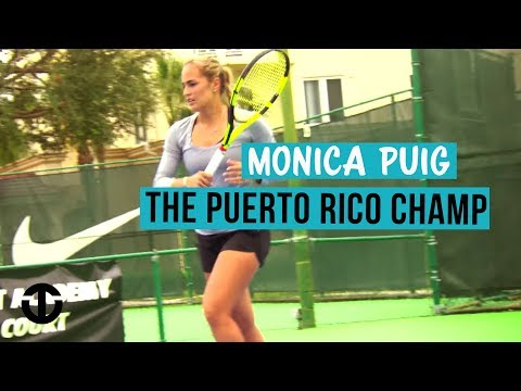Monica Puig | Golden Girl of Puerto Rico | Trans World Sport