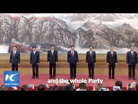 Xinhua Special: Who's who in Xi Jinping's new team?