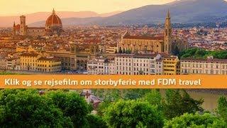 Firenze - se video om rejser til Firenze