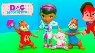 Doc McStuffins and Alvin and the Chipmunks and the Missing  Kit Toys
