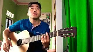 Biết nói gì đây - guitar cover Trần Thiên Tính