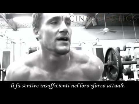 Motivazione Greg Plitt in italiano. (Video Motivazionale sul culturismo)