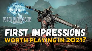 Should You Play Final Fantasy 14 in 2021 | FFXIV 2021 First Impressions
