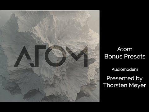 ATOM Bonus Presets (released Aug 2017) by Audiomodern