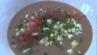 Tomato Mango Gazpacho
