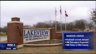 Rockwall County camp prepares for the arrival of border children