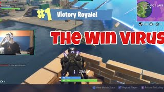 CATCHING A WIN VIRUS w/ Cousin   Fortnite Battle Royale Duo Wins   10k + 11k Games