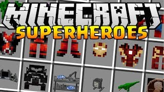 TRANSFORME TOI EN GEANT ! SUPERHEROES UNLIMITED MOD MINECRAFT