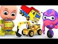 Kids Toys - Easter Egg | Big Crane Construction Truck | Unboxing Surprise Eggs from jugnu Kids