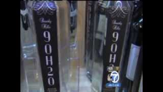 Beverly Hills 9OH2O @ ABC Eyewitness News with Jon Gluck and Water Sommelier Martin Riese