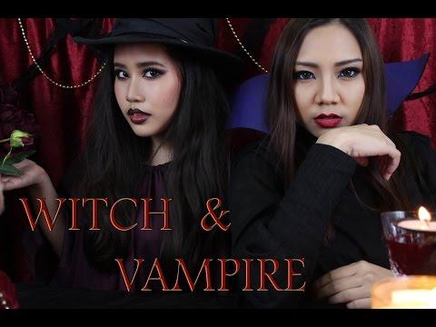 Witch & Vampire Makeup แต่งหน้าเป็นแม่มด/แวมไพร์ [English Sub]