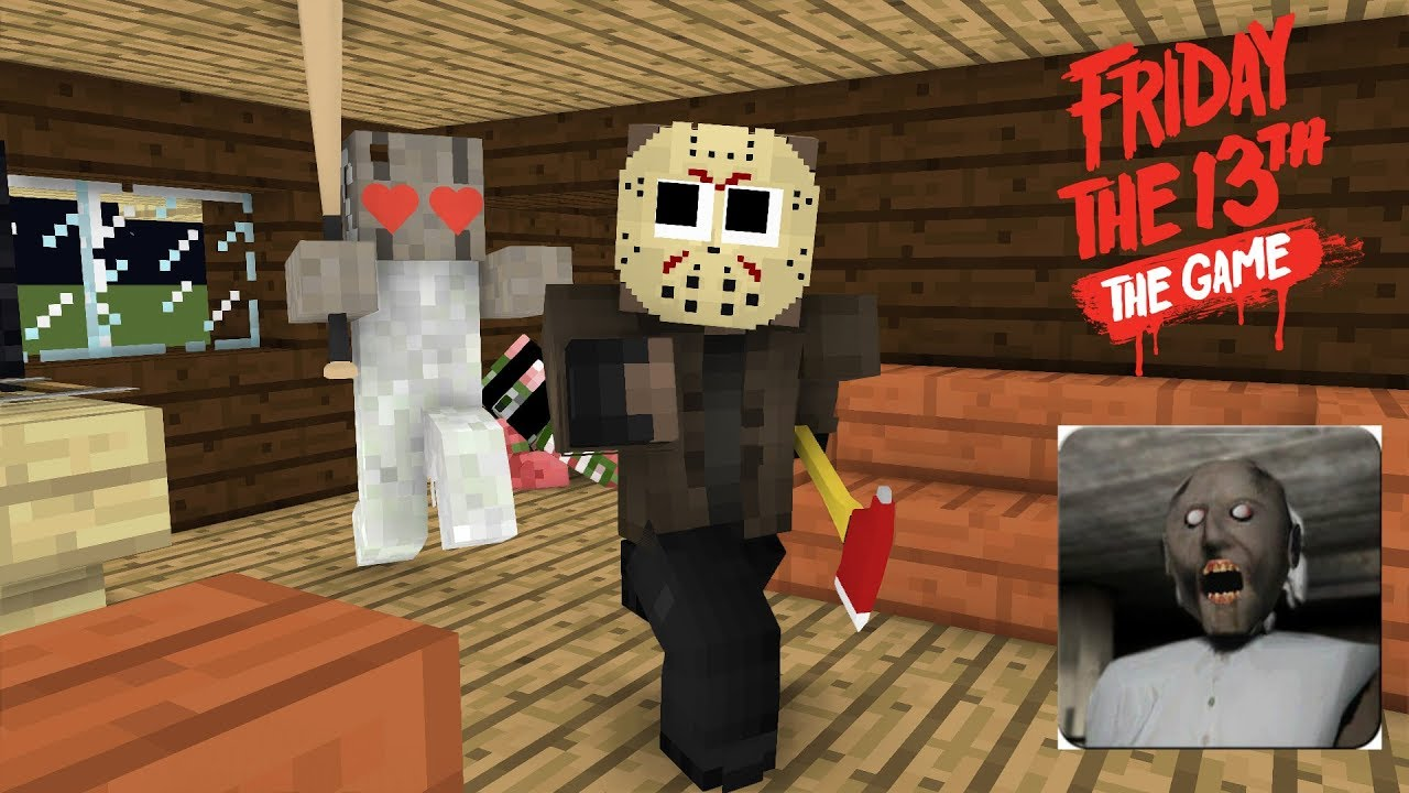 Monster School : Friday The 13th and Granny Challenge - Minecraft Animation