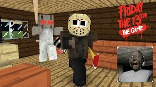 - Monster School Friday The 13th and Granny Challenge Minecraft Animation