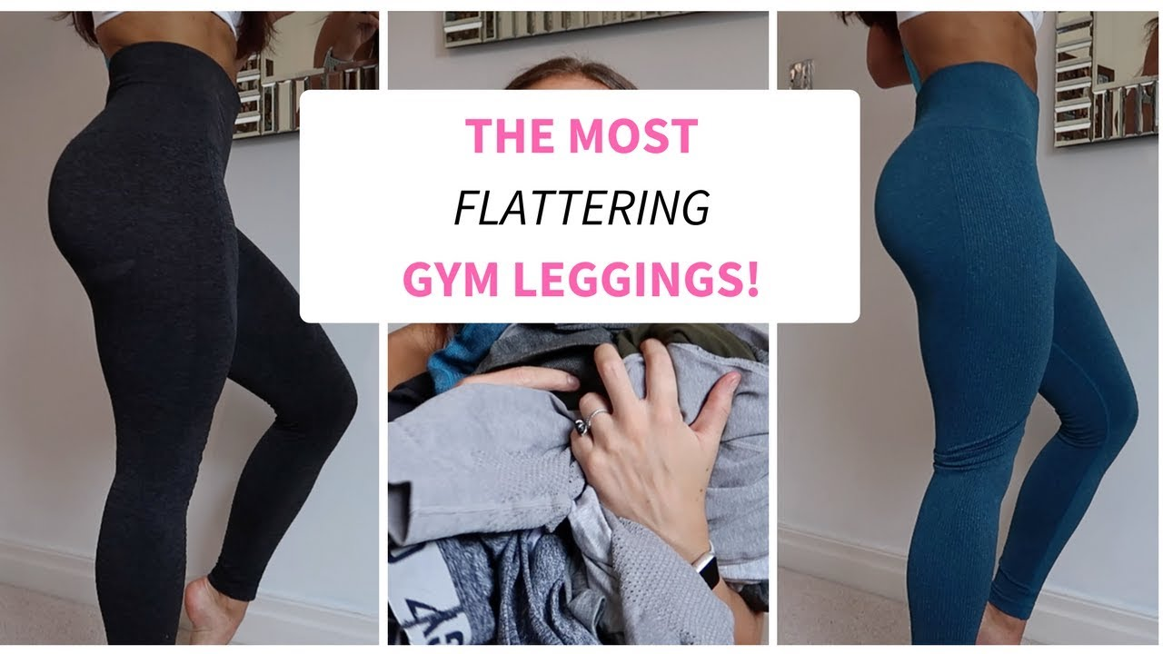 The Most Flattering Gym Leggings Try On Honest Review Youtube