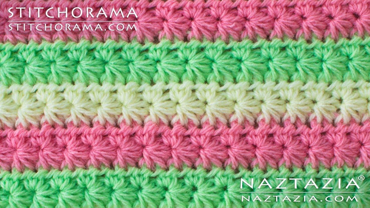 How to Crochet the Star Stitch - Daisy Marguerite Stitch - DIY ...