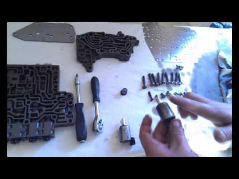 Фото к видео: Ремонт коробки автомат DP0
