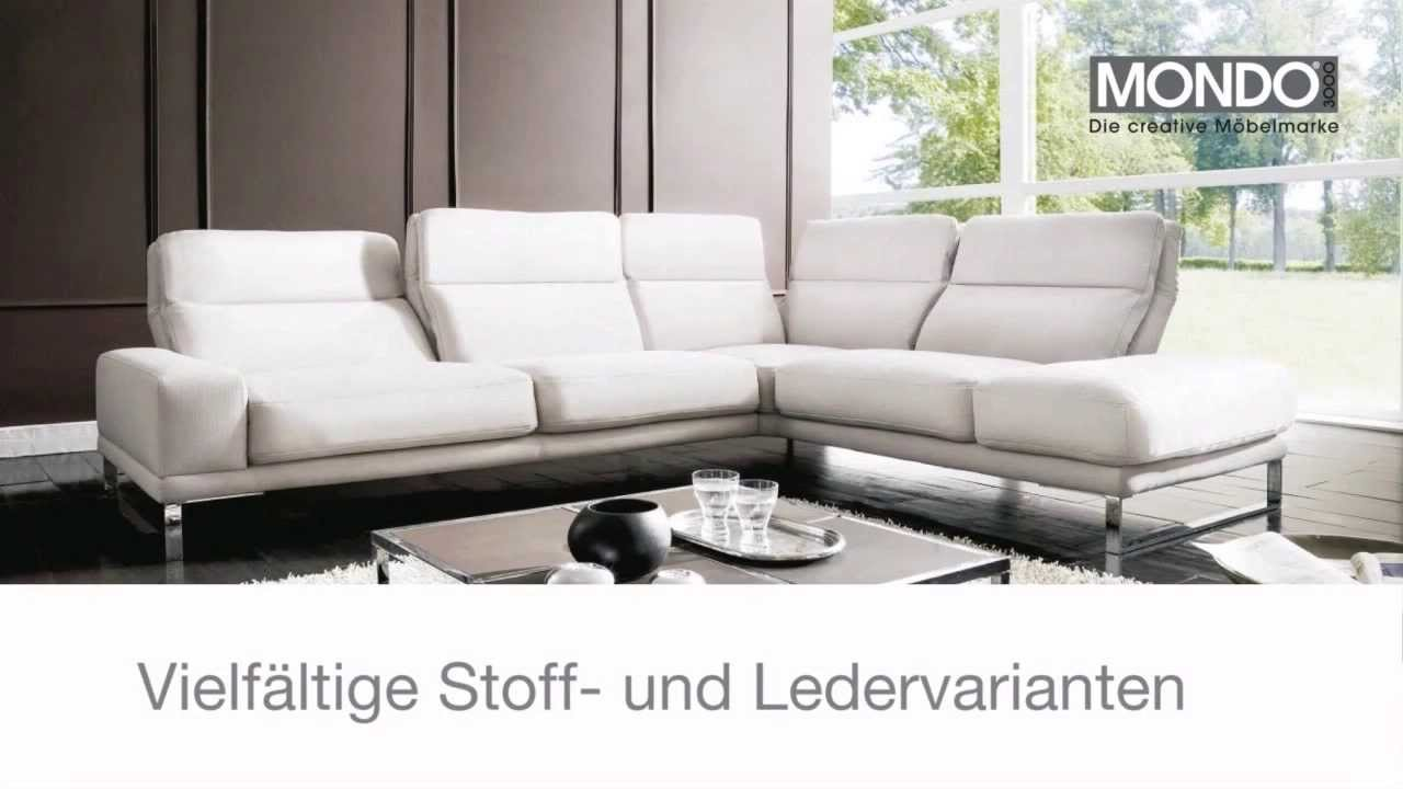 ostermann sofa mondo civita youtube. Black Bedroom Furniture Sets. Home Design Ideas