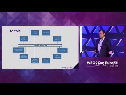 Implementing Data Exchange Infrastructure in Government, WSO2Con EU 2017