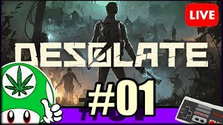 [🔴LIVE] DESOLATE DECOUVERTE #01 - Survie, Coop, Zombie, Horreur, Craft [PC-FR]