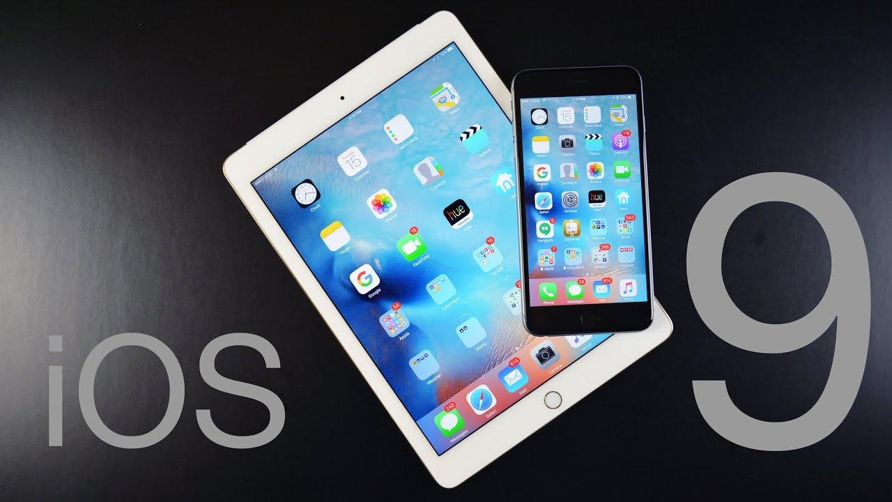Apple iOS 9: Full Walkthrough