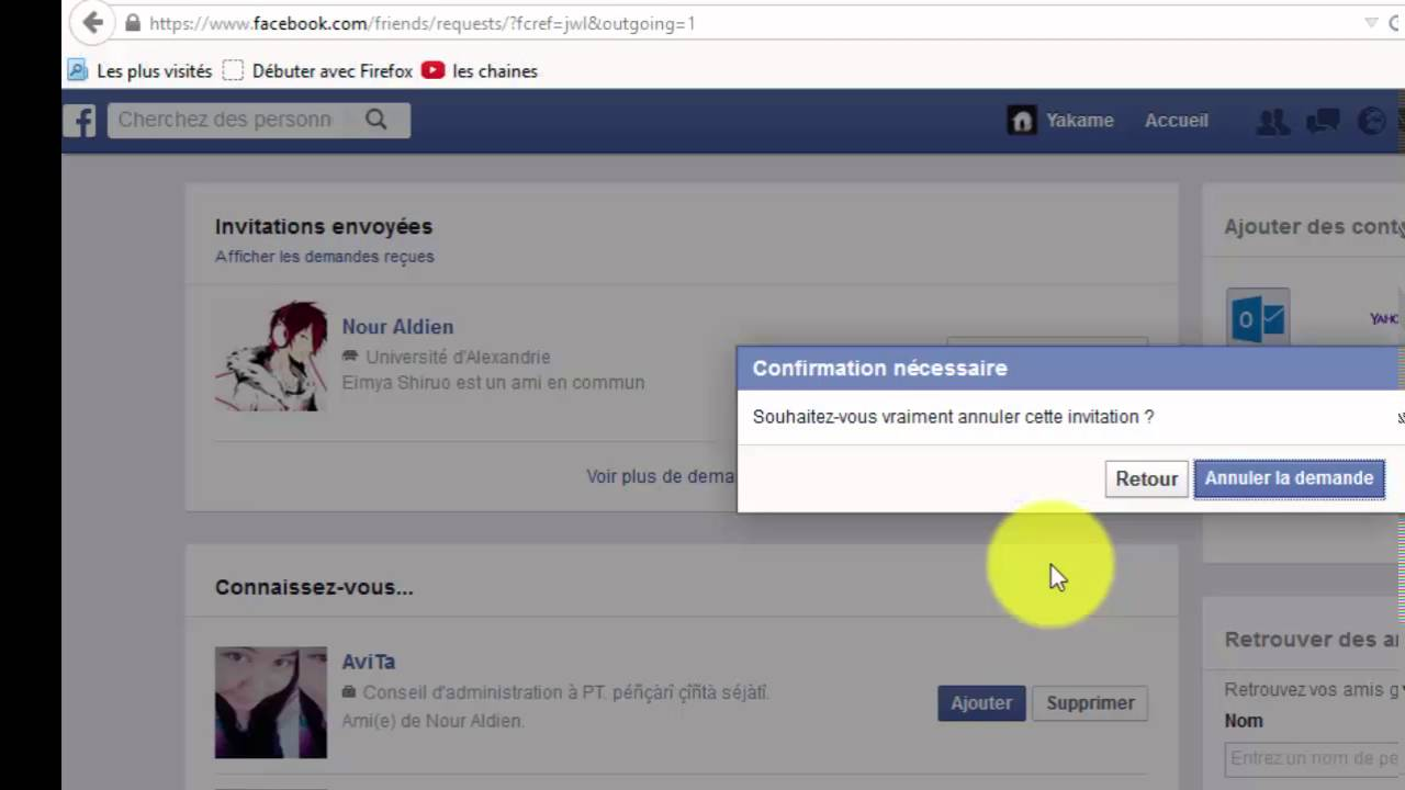 how to find and cancel invitations sent on facebook 2016 youtube