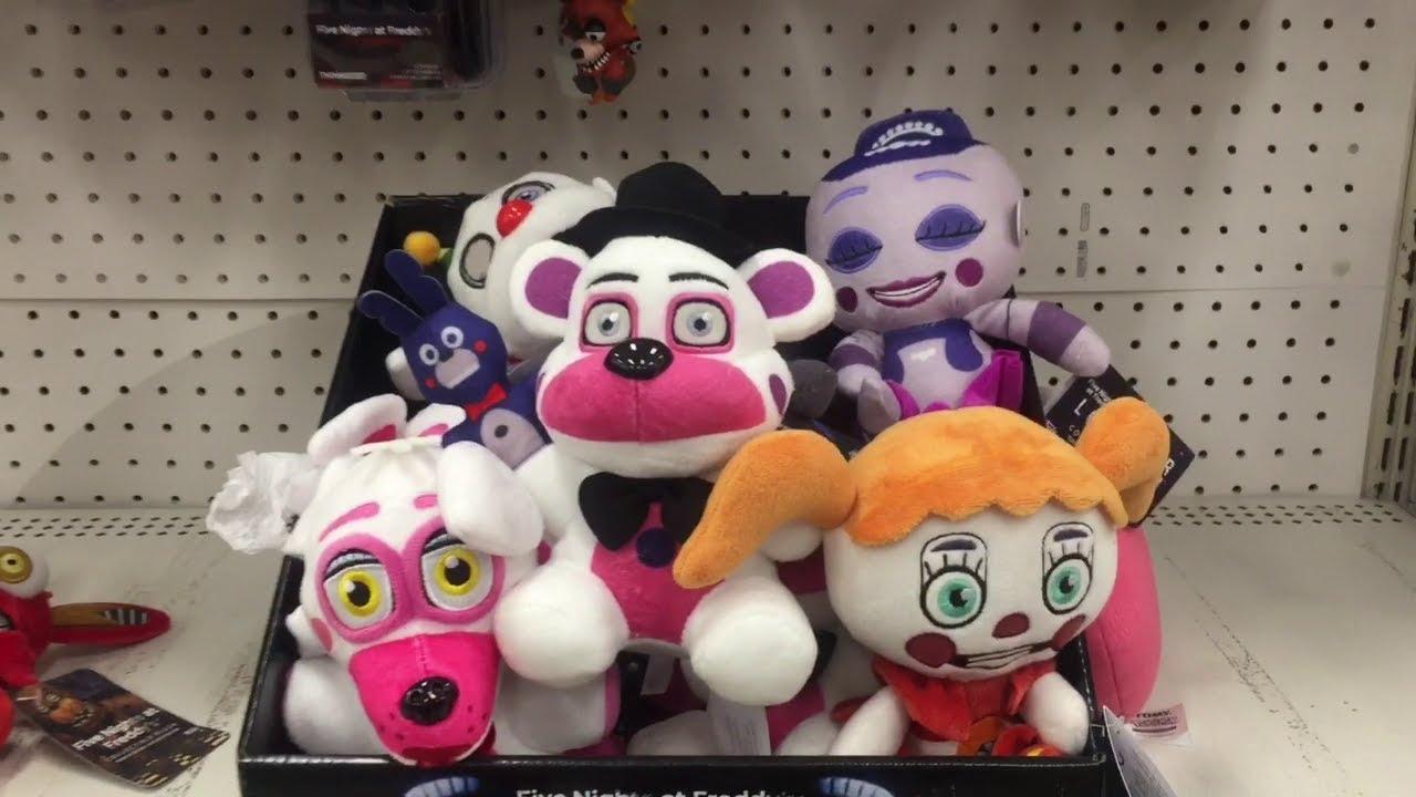 Toy Hunt 96 Fnaf Sister Location Plush Grossery Gang