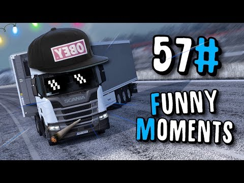 Euro Truck Simulator 2 Multiplayer | IDIOTS ON THE ROAD  &  Funny Moments 57# | Toast 🚚 |