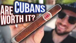 ARE CUBAN CIGARS WORTH IT??? - Romeo y Julieta No. 1 Review