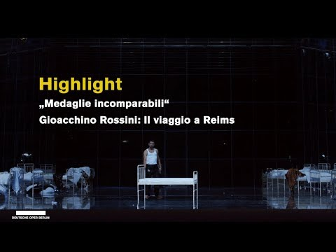 """Medaglie incomparabili"" sung by Davide Luciano, Deutsche Oper Berlin, 2018 (Highlights)"