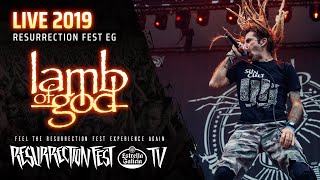 Lamb of God - Live at Resurrection Fest EG 2019 (Viveiro, Spain) [Full Show, Pro Shot]