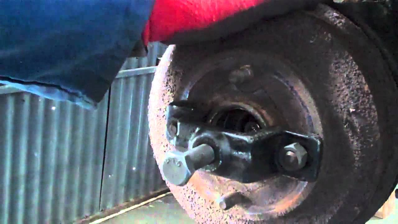 Ford Focus Rear Brake Drum Removal Youtube
