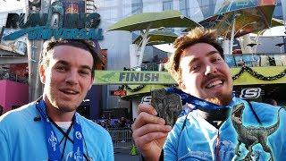 We Ran The Jurassic World Marathon at Universal Studios!   Running Universal