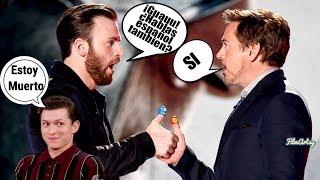 Avengers: Endgame Cast Speaking Spanish | Tom Holland Special