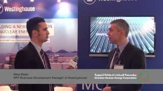 NNIC interview: Mike Waite, NPP Business Development Manager of Westinghouse