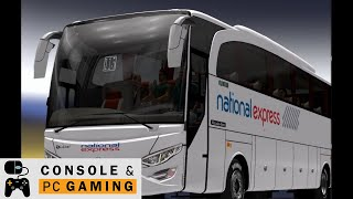 Best Simulation Games - National Express Coach Simulation with ETS2