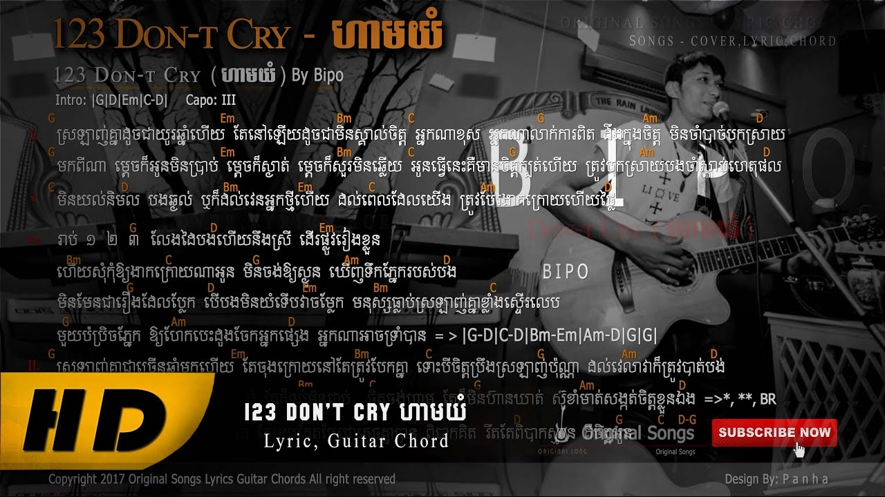 123-dont-cry-full-lyric-guitar-chords-by-pipo-3721835-views