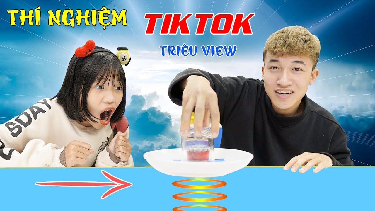 Download Khám Phá Thí Nghiệm TikTok Triệu View ♥ Min Min TV Minh Khoa