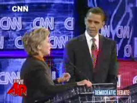 Clinton, Obama Clash