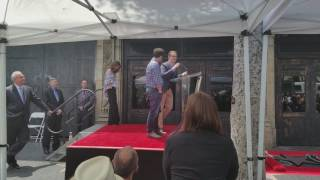 JJ Abrams and Matt Reeves Speech at The Keri Russell Star Ceremony in Hollywood