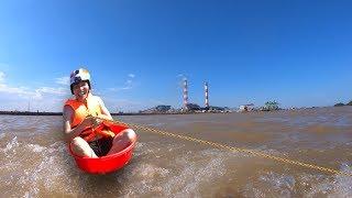 NTN - Thử Lướt Ván Bằng Chậu (Surfing with a pot)