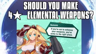 Dragalia Lost: Should You Make A 4* Elemental Weapon Or Wait For 5*?