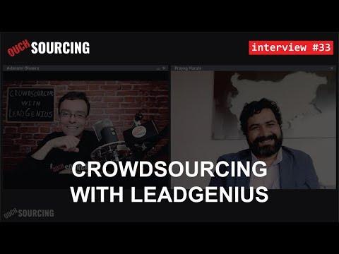 #33 - Prayag Narula / Crowdsourcing With LeadGenius