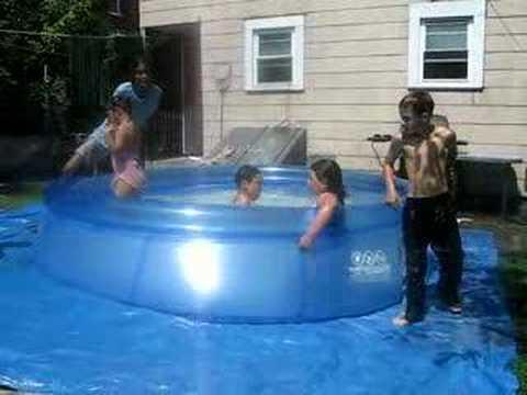 backyard pool with slides. Backyard Pool With Slides