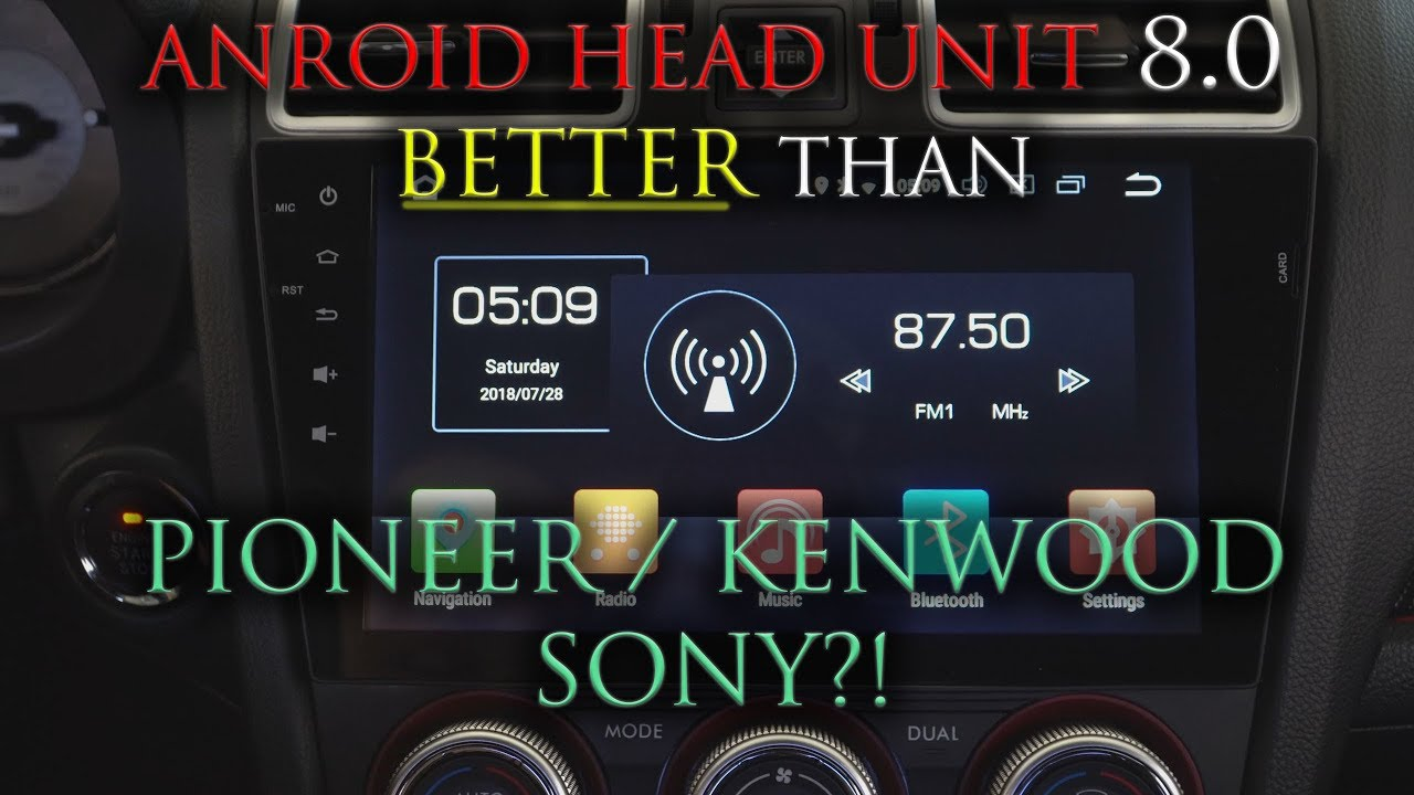 Perfection? - Android Head unit 8 0 (Seicane)