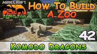 Zoo In Minecraft :: Komodo Draken :: Hoe Te Bouwen :: E42 :: Z Een N