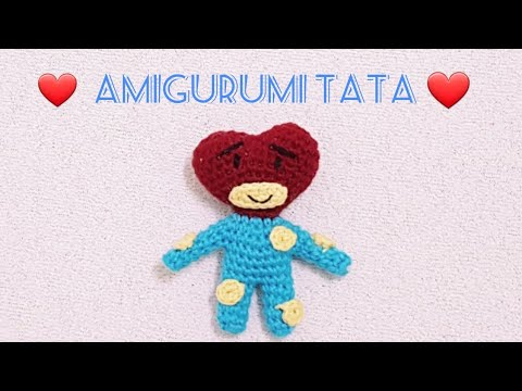 TATA Chaveiro Amigurumi BT21 no Elo7 | Ami Key (CEA4FD) | 360x480