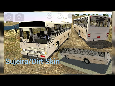 Proton Bus Simulator - Polo Industrial/ Rural Map Route 4 (Dirty Bus Skin)