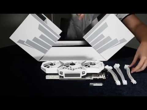 GALAX GeForce GTX 1080Ti HOF - Unboxing