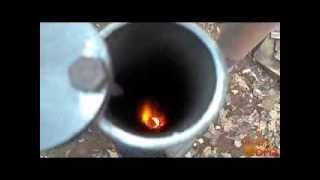 Бубафоня печь длительного горения(Буржуйка на дровах длительного горения. Печка