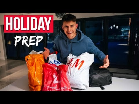 SHOPPING FOR HOLIDAY | BARCELONA PREP